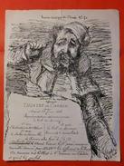 GUERRE DE CRIMEE 1856 / TB AFFICHETTE / DESSIN POUR LE THEATRE DES ARMEES TRES RARE - Postmark Collection (Covers)