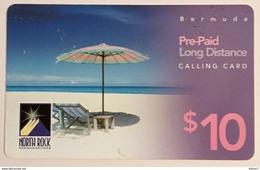 Umbrella On Beach - Bermuda
