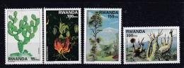 RWANDA   :  Yvert  1328 à 1331  Neuf XX - Rwanda