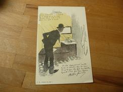 STEINL  U A Dans La Rue Vers Arisitde Bruant - Otros Ilustradores