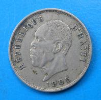 Haïti Haiti 5 Centimes 1905 Km 53 - Haïti