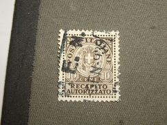 ITALIE  Stamp   Exprès - Versichert
