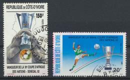 °°° COTE D'IVOIRE - Y&T N°888/89 - 1992 °°° - Costa D'Avorio (1960-...)