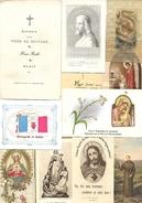 D 232 Lot De 22 Images Pieuses - Religion & Esotérisme