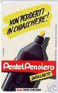 *ITALIA - SIP: PENTEL PENSIERO - BRILLANTE* - Scheda Usata (variante 177a) - Italie