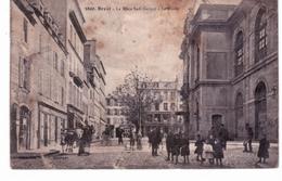 Brest - La Place Sadi Carnot - Le Musée - Brest
