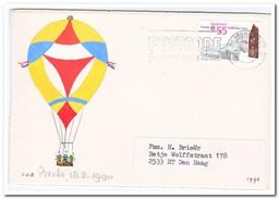 Ballonvaart 18-08-1990 Breda - Luchtballons