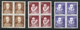 España_1950-53_Literatos. Bloque De Cuatro - 1931-Hoy: 2ª República - ... Juan Carlos I