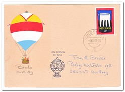 Ballonvaart Breda 03-08-1989, On Board PH-Box - Luchtballons