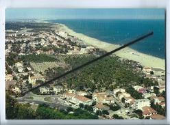 2 CPM  -  Argeles Sur Mer - Vue Aérienne De La Ville - Vue Panoramique De La Station Et Du Littoral - Argeles Sur Mer