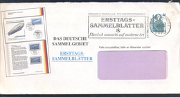 Germany 1992 Cover: Graf Zeppelin Luftschiff; Transport - Zeppeline