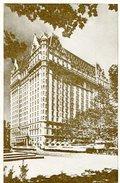 POST CARD THE PLAZA  HILTON HOTEL NEW YORK ZTU. - Hotel's & Restaurants
