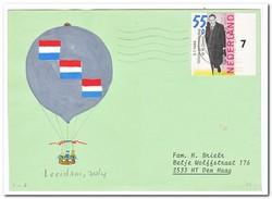 Ballonvaart Leerdam 30-4-1987 - Luchtballons