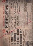 Authentique Le Petit Journal Du 17 Mai 1937 , Article Sur Hindenburg , Première Et Deuxième Page , Lz 129 - Automobile & Transport