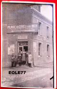 76 - Carte Photo - CRIEL SUR MER - CHANTE REINE - Cafe - Restaurant - BERTHE DEHEDIN ? - Criel Sur Mer