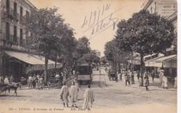Tunisia Tunis L'Avenue de France