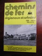 Chemins De Fer Secondaires 189 1985 Chemins De Fer Du Jura Histoire Rail Tramway - Railway