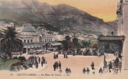 Monaco Monte Carlo La Place Du Casino - Casino
