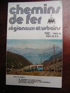 Chemins De Fer Secondaires 192 1985 Le Tramway Du Mont Blanc TMB - Ferrocarril