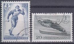 FINLANDIA 1958 Nº 469/70 USADO - Finlandia