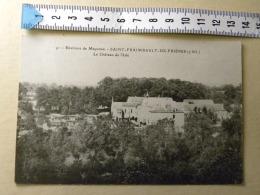 CPA (53) Mayenne - SAINT FRAIMBAULT DE PRIERES - Le Château De L'Isle - France