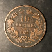 Luxemburg 10 Centimes 1854 - Luxembourg