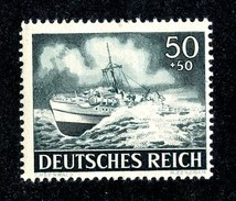 15227  Reich 1944 Michel #842** ( Cat 2.50€ ) Offers Welcome - Germany