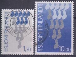 FINLANDIA 1987 Nº 993/94 USADO - Finlandia