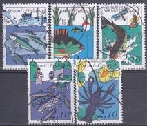 FINLANDIA 1991 Nº 1103/07 USADO - Usados