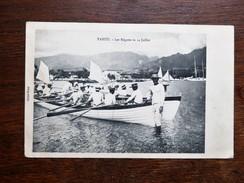 CPA TAHITI: Les Régates Le 14 Juillet, En 1906, TRES RARE