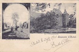 Souvenir D'Aubel - Entrée De La Commanderie (1901, Editeur A. Willems) - Aubel