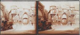 75 - 1 PHOTO Sur CARTON - 12.5X6 - PARIS - Hotel De Sens - Camion Balayeuse - Paris (04)