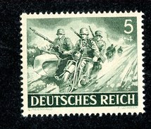 15250  Reich 1943 Michel #833** ( Cat 2.€ ) Offers Welcome - Allemagne