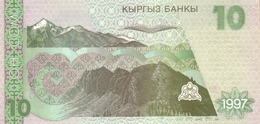 KYRGYZSTAN P.14 10 Som 1997 Unc - Kirghizistan