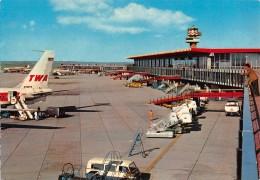 """06724 """"FIUMICINO - AEROPORTO INTERNAZIONALE DI ROMA LEONARDO DA VINCI """"  ANIMATA. CART. ILL. ORIG. SPED. 1965 - Fiumicino"""