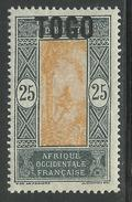 TOGO 1921 YT 108** SANS CHARNIERE NI TRACE - MNH - Togo (1914-1960)