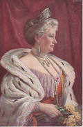 AK Kaiserin Auguste Viktoria - Art. Fischer - Wohlfahrtskarte (27979) - Familles Royales