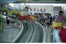 80s ORIGINAL AMATEUR 35mm Set NEGATIVES NOT PHOTO CARS FAIRGROUND MACAO MACAU CHINA NEGATIVO NO FOTO - Photographie