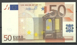 ESTONIA Estland 50 EURO 2002 D-Serie Banknote AUNC/UNC (ATM-fresh) RO51E3 - EURO