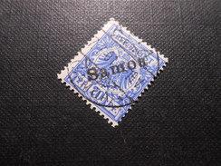D.R.4  20Pf   Deutsche Kolonien (Samoa) 1900/01  Mi 34,00 € - Colony: Samoa