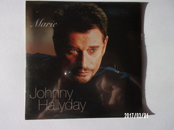 Johnny Hallyday - CD 2 Titres - Marie - Rock