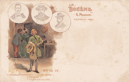 LA BOHEME _ G. RICORDI & C. Editori - Théâtre
