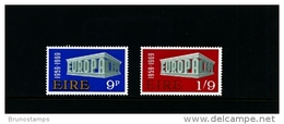 IRELAND/EIRE - 1969  EUROPA  SET  MINT NH - 1949-... Repubblica D'Irlanda