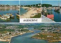 Audierne.. Belle Multi-vues Le Port De Saint-Evette Le Port De Pêche Embouchure Du Goyen - Audierne