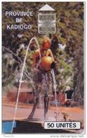 BURKINA FASO  PHONECARD ONATEL PROVINCE DE KADIOGO  BKF 34-4460pcs -USED(2)- - Burkina Faso
