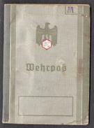 WEHRPASS Allemand 1er Modèle 1936 + Papier - Documenti