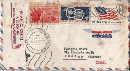 USA 02) 1959 Storia Postale Busta Aerea Viaggiata - Postal History