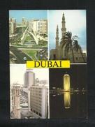 United Arab Emirates UAE Dubai Picture Postcard 4 Scene Dubai View Card U A E - Dubai