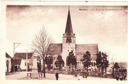 MELDERT 194? Aalst Sint WalburgaKerk Kerkhof Cimètiere - Aalst