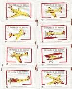 Sobres De Azucar Vacios. Coleccion El Mundo De Los Aviones. (ref. 25c-643) - Azúcar
